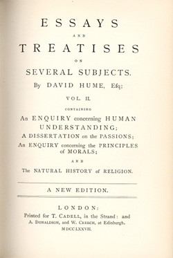 david humes essays moral and political 1742